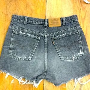 Dark Levi's Jean Shorts